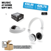 Music at home gift set